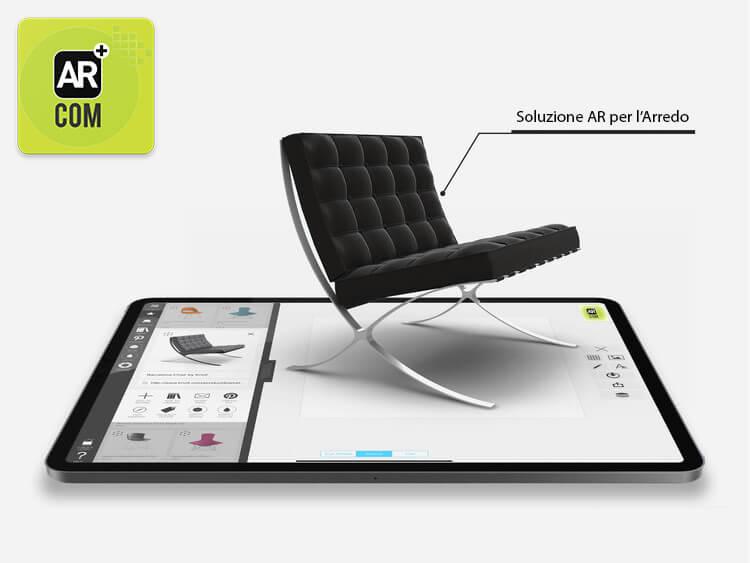Realt aumentata per il mondo del mobile e dell 39 arredo in ar for Simulatore di arredamento